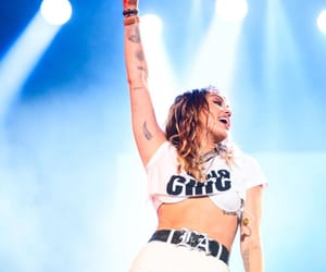 concert, stage, and miley cyrus image