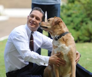 actor, celebrity, and dog image