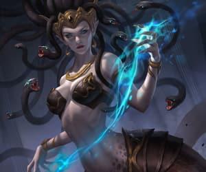 character, fantasy, and gorgon image