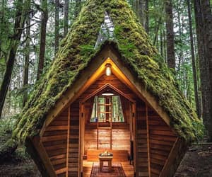architecture, home, and cabin image