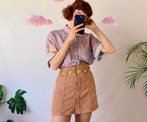 blouse, lilac, and purple image