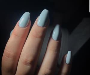 acrylic, blue, and gel image