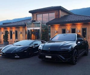 cars, rich, and black image