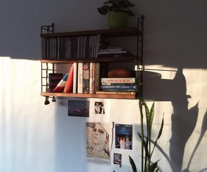 decor, home, and string shelves image