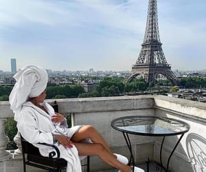 blogger, great view, and tour eiffel image