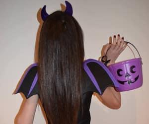 girl, hair, and Halloween image
