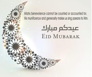 eid, eid mubarak, and islam image