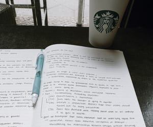 book, coffe, and highschool image