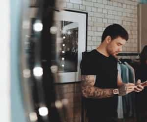 mirror, photoshoot, and liam payne image