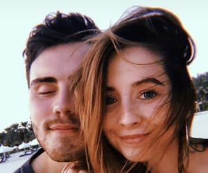 alfie, couple, and zoe sugg image