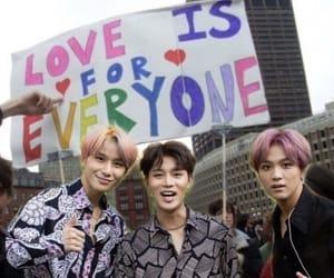 kpop, pride, and rainbow image