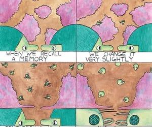 comic, deep, and imagination image