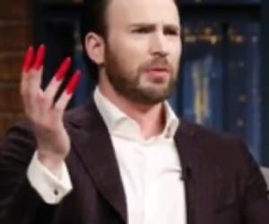 acrylics, Avengers, and chris evans image