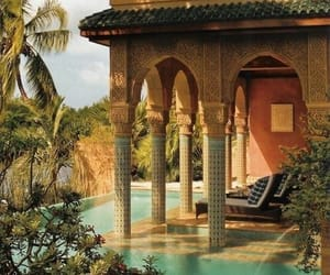 beautiful, morocco, and pool image