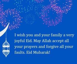 eid, eid ul fitr, and eid mubarak image
