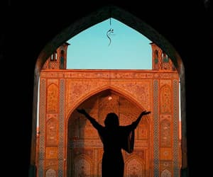 architecture, girl, and iran image