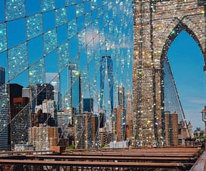 new york, glitter, and photography image