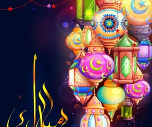 celebrate, eid, and eid mubarak image