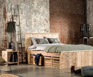 bedroom, comfort, and warehouseapartment image