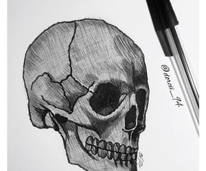anatomy, art, and ink image