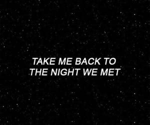 love, night, and quotes image