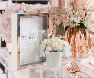decoration, rose gold, and pink image