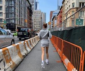 city, fashion, and bella hadid image
