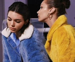 bella hadid, model, and kendall jenner image