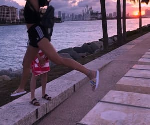sunset, miamibeach, and southpointe image