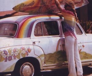 70s, hippie, and vintage image