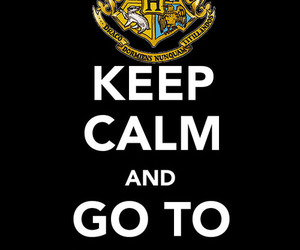 keep calm and hogwarts image