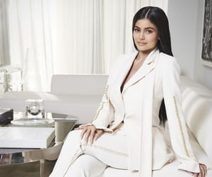 kylie jenner, outfit, and white image