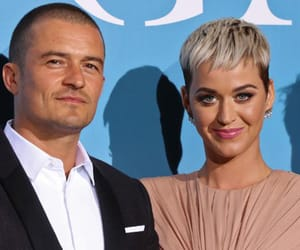 katy perry, orlando bloom, and Valentine's Day image