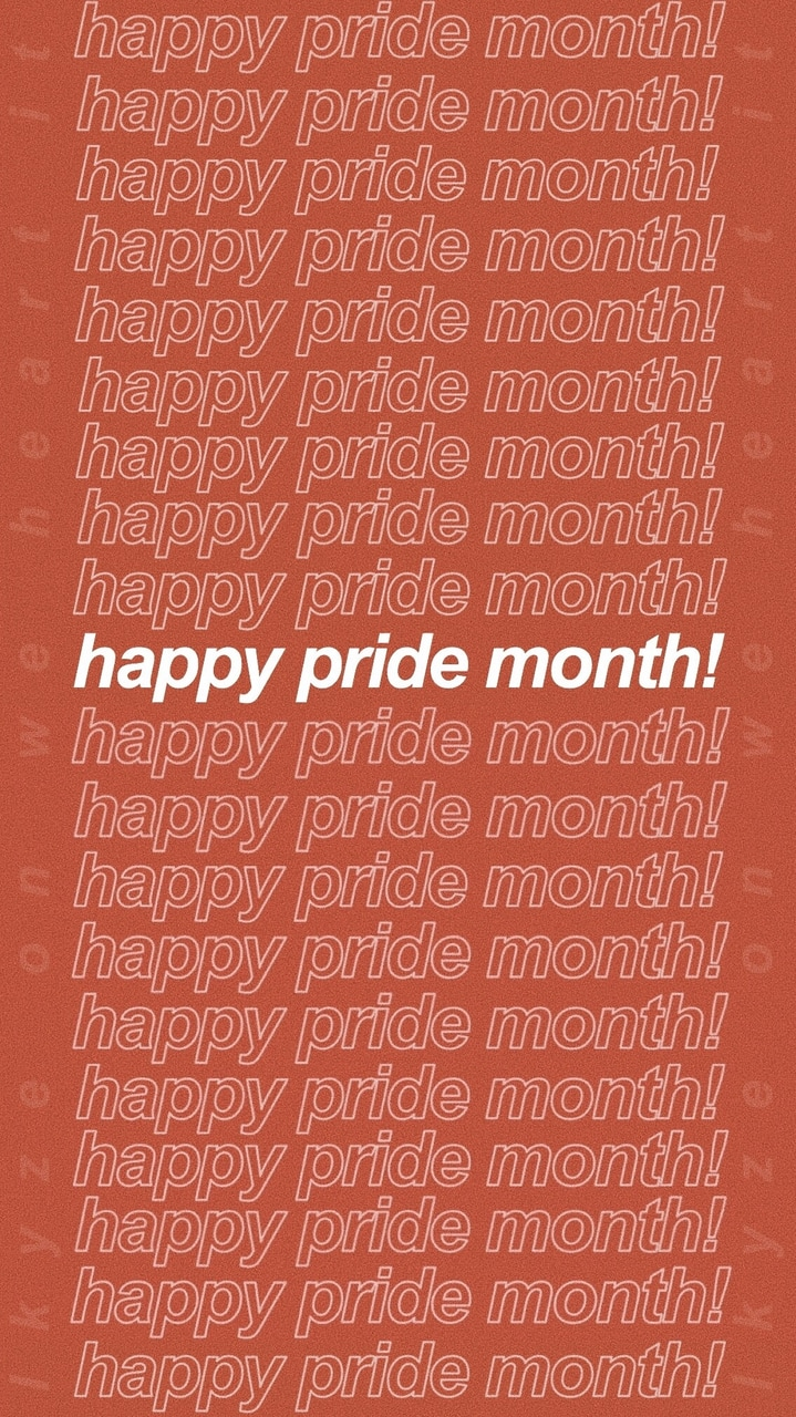 Phone Wallpaper I Made For Pride Month Enjoy