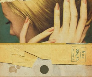 Collage, girl, and hands image