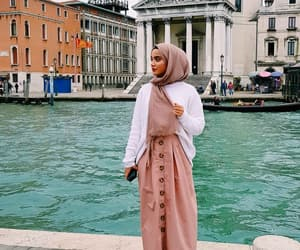 dress, pink, and tourism image