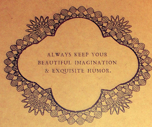 imagination, humor, and quotes image