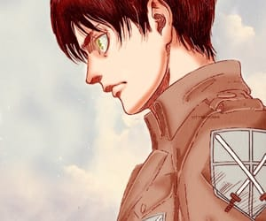 color, manga, and attack on titan image