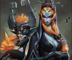 midna, game, and the legend of zelda image