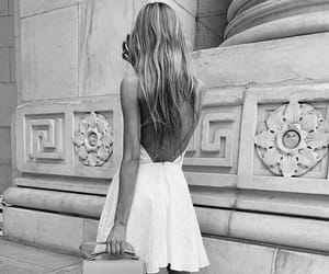black and white and fashion image