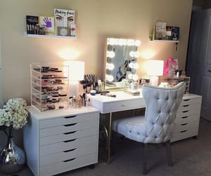 bedroom, girly, and drawer image