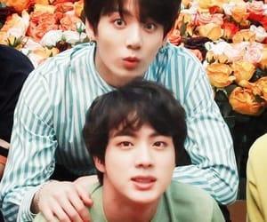 boys, jin, and kpop image