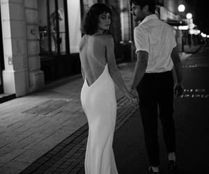 couple, street, and love image