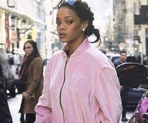 rihanna, pink, and style image