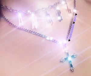 bling, chain, and cross image