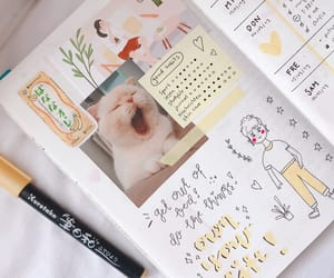 cats, tumblr, and bujo image