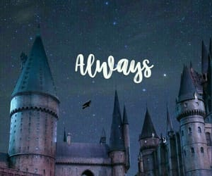 always, harry potter, and hogwarts image