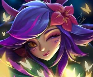 art, neeko, and league of legends image