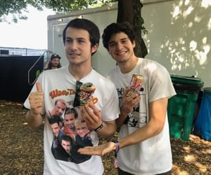 dylan minnette, wallows, and band image