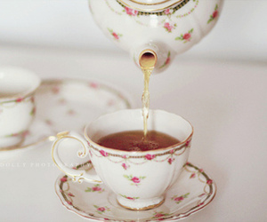 tea, pretty, and vintage image